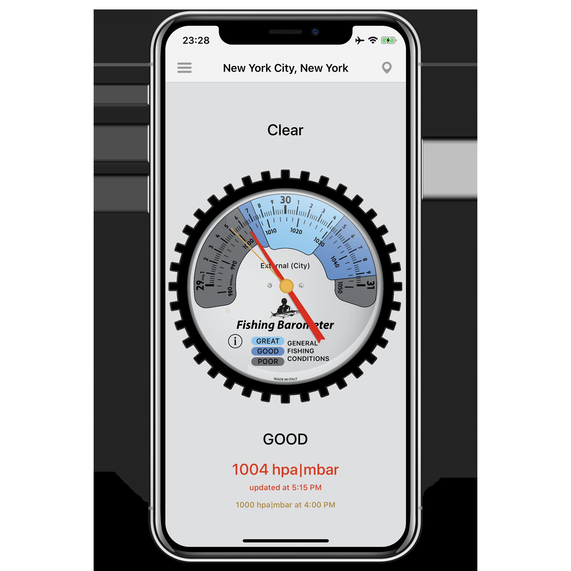 LionsApp - iPhone - Fishing Barometer